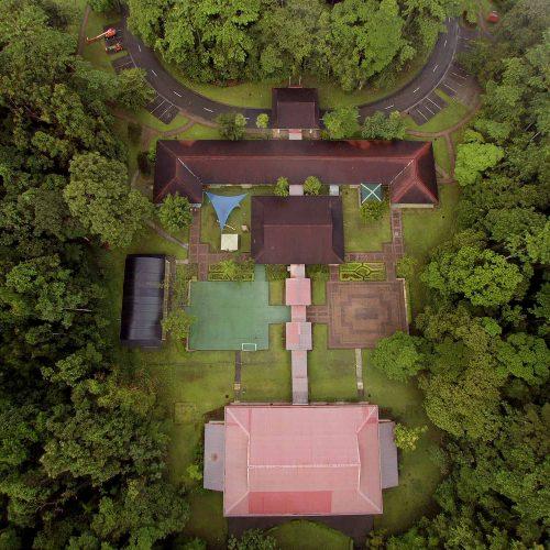 A Drone Shot of MZS Kuala Kencana Campus